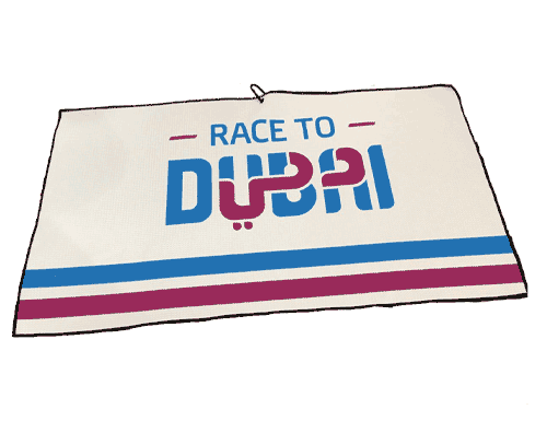 Race to Dubai Players Towel