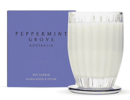 Peppermint Grove Sandalwood & Vetiver Candle 350g