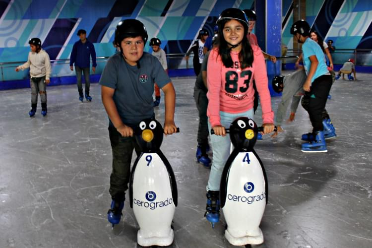 Enséñale a tus hijos a patinar junto con Cerogrado -Rancagua