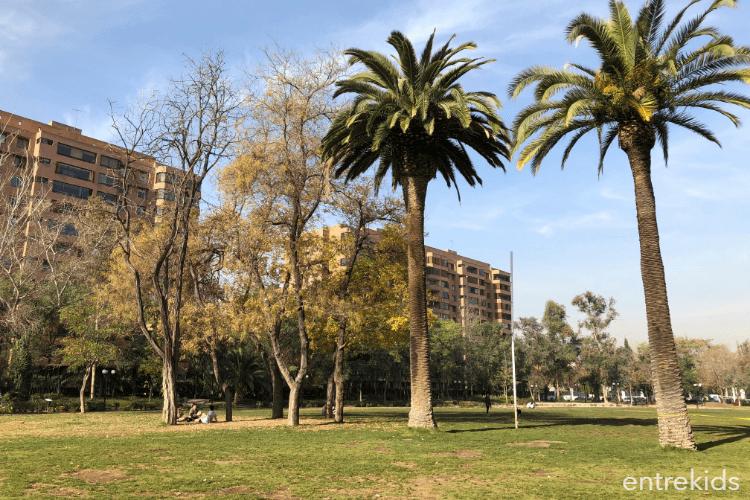 Parque Inés de Suarez