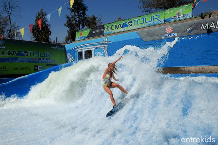 Clases de Bodyboard y Flowboard en La Ola Mall Sport