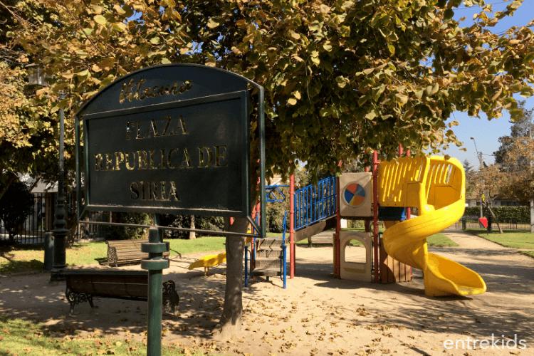 Plaza República de Siria