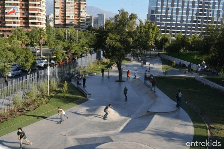 Skatepark Parque Araucano