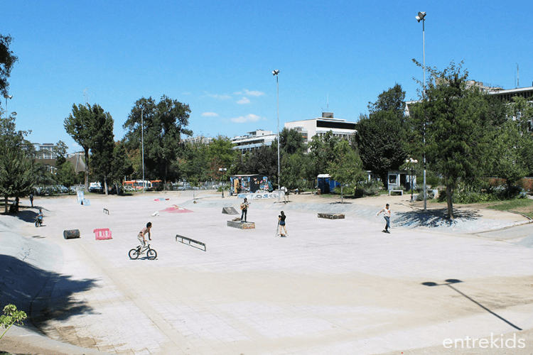 Skatepark Parque Bustamante