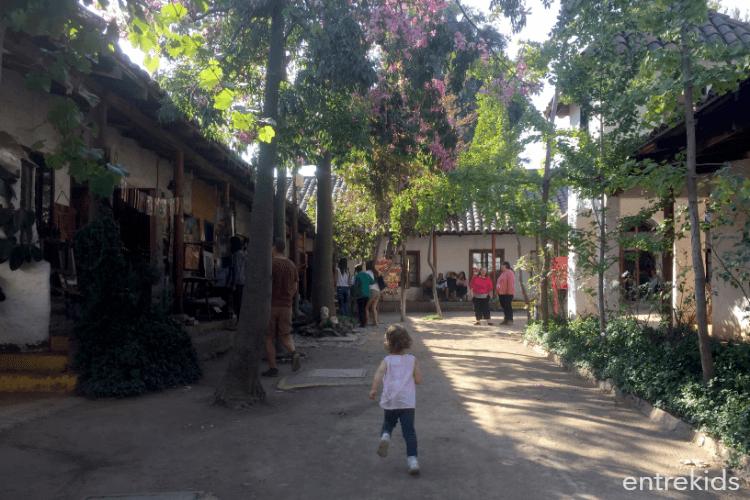 Un paseo pintoresco en familia