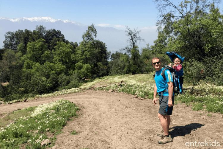 Cerro Manquehuito en familia