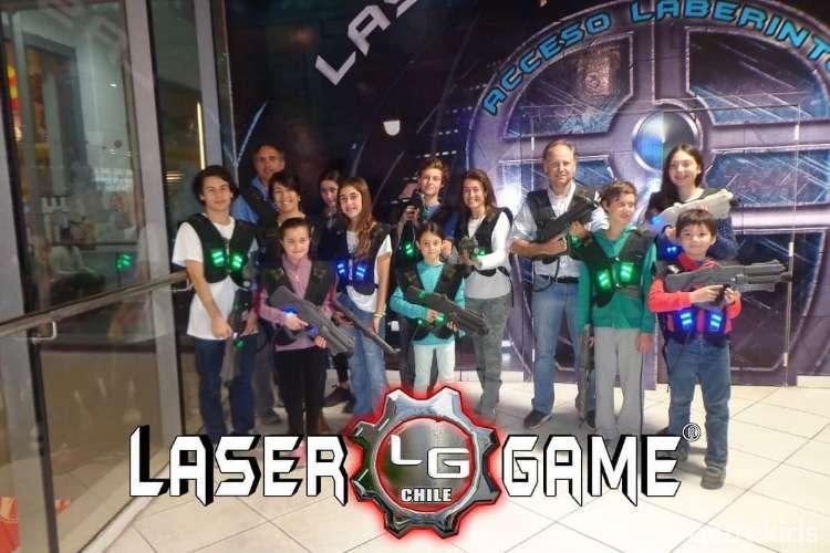 Laberinto de Paintball Láser para niños