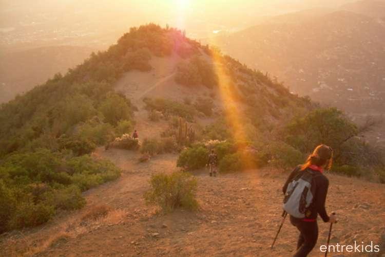 Trekking junto a los cóndores en Cerro Pochoco