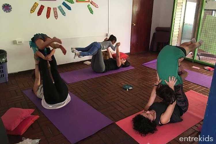 Yoga Padre e Hijo/a en Tu Kaleidoscopio