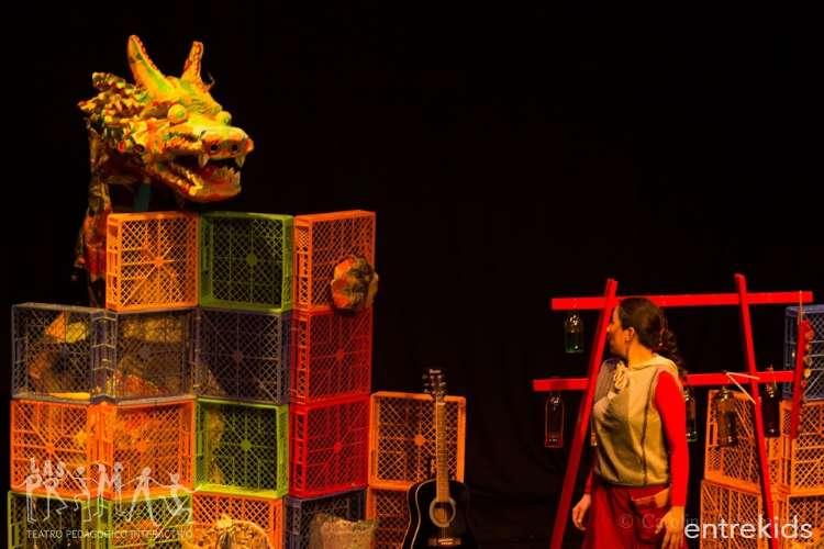 Crisálida y el dragón reciclador, Teatro familiar 2018