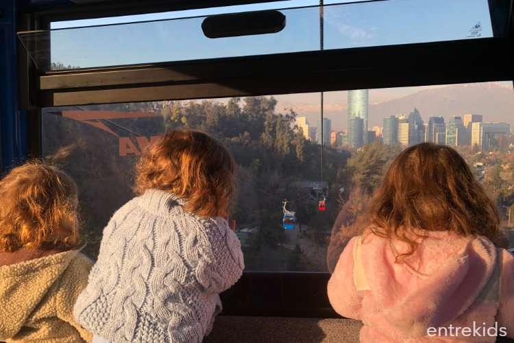Disfruta un paseo en teleférico, Parque Metropolitano