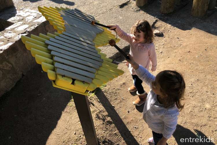 Plaza Gabriela Mistral, un lugar para niños