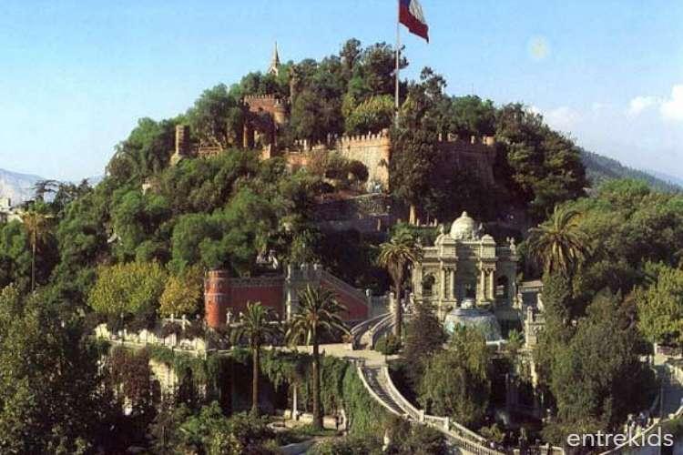 Cerro Santa Lucía, un parque urbano con historia