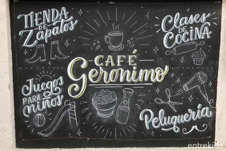 En Café Gerónimo, distracción para grandes y chicos