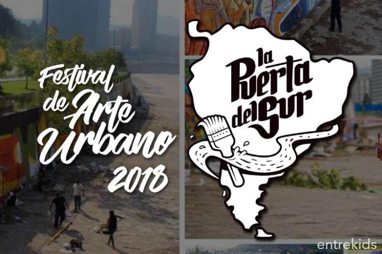 """Festival de Arte Urbano """"La Puerta del Sur"""""""