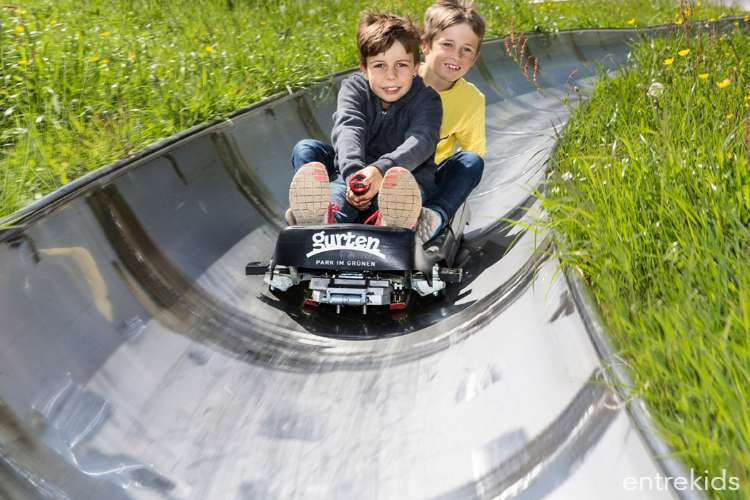 Adrenalina en el Rodelbahn