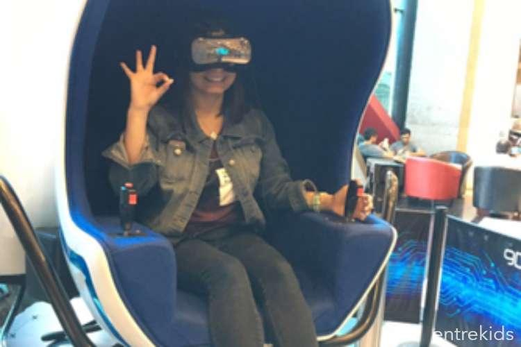 Realidad virtual 9D RVolution Mall Sport