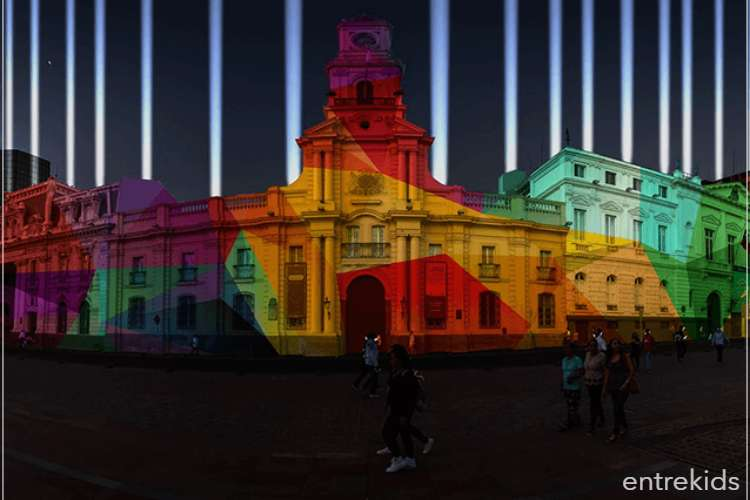 FILUSA, Festival internacional de luz de Santiago
