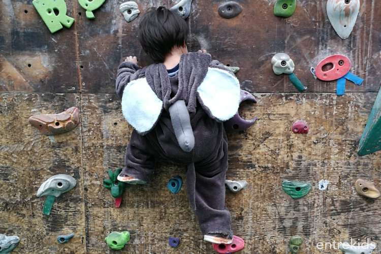 Escalada Libre padres e hijos