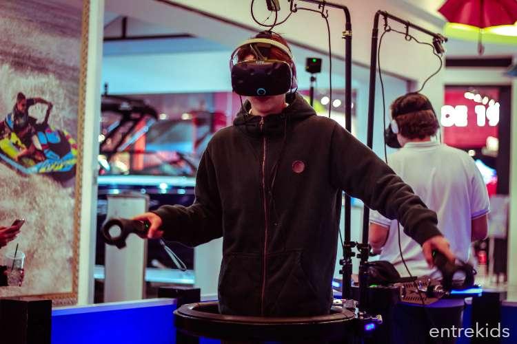 Realidad virtual 9D WALKER Mall Sport