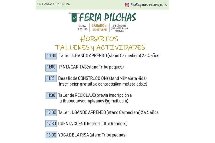 Feria Pilchas, Expo-emprendedores en Ombú Play+Grow
