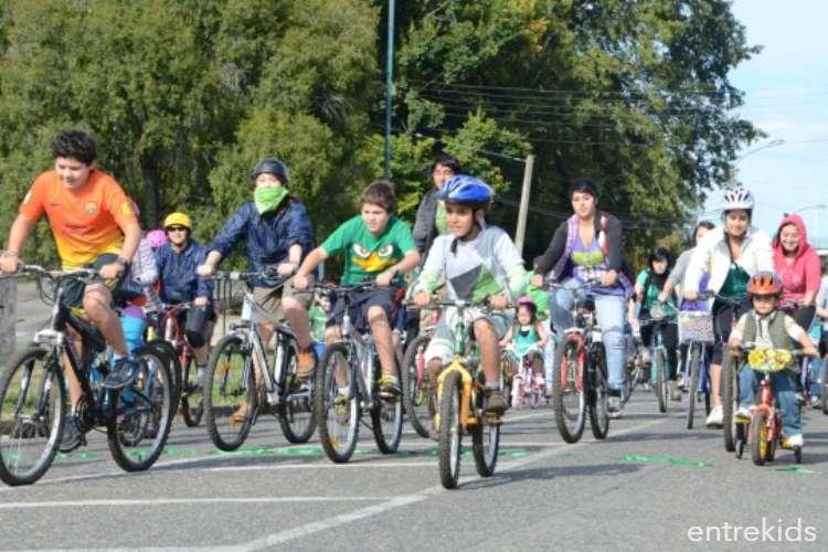 Cicletada Familiar en Parquemet