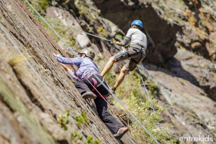 Gratis Escalada, senderismo y cine en el Cajón del Maipo