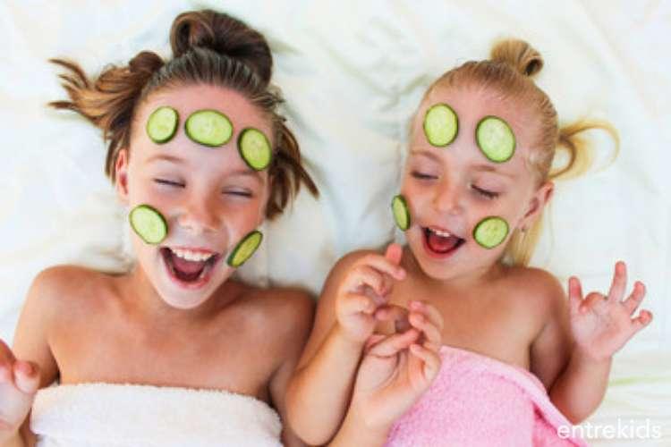 Mini Spa para niñas