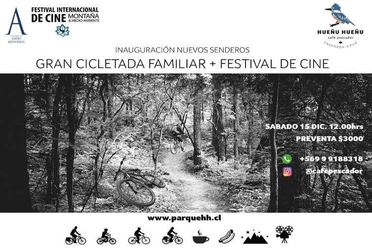 Cicletada familiar + Festival de Cine
