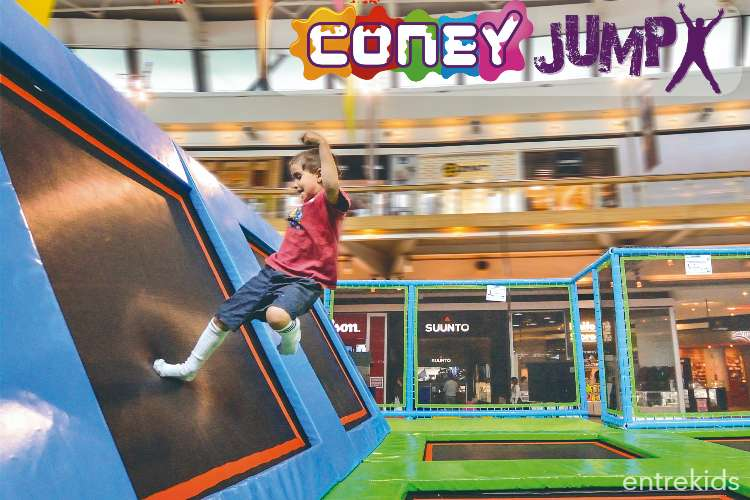 Salta en Coney Jump - Mall Plaza Sur