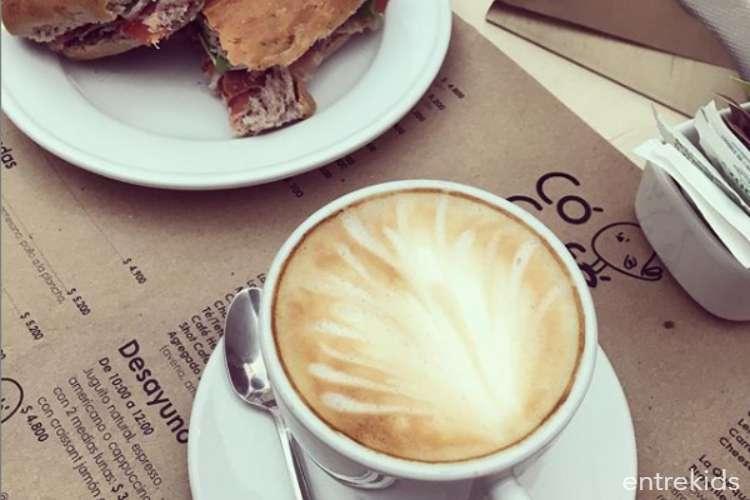 Hora del té en Coco Café
