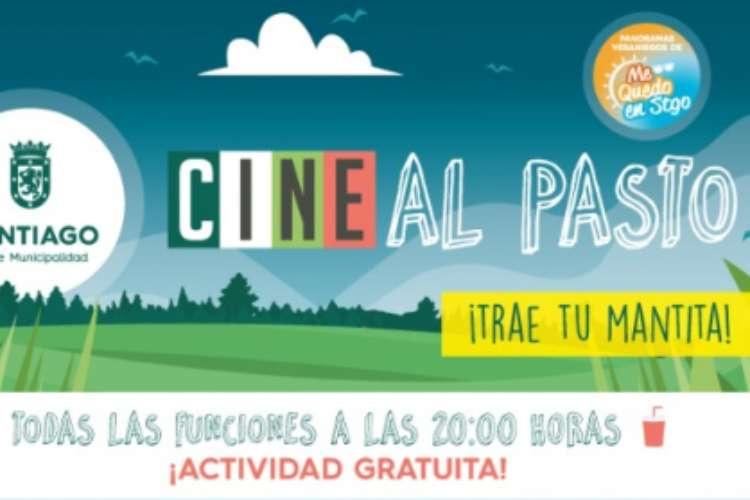 Cine al Pasto 2019 en Parques de Santiago