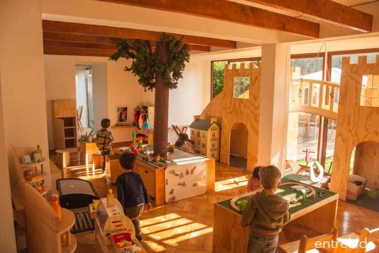 Entrada Niño y Café en Babarrún