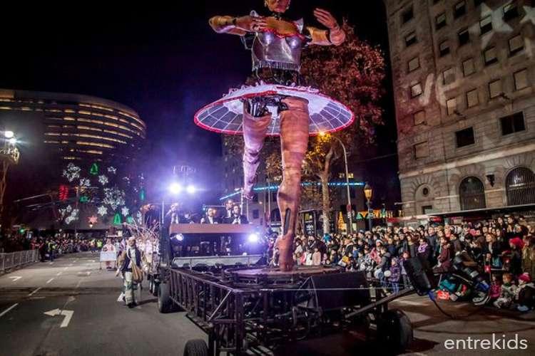La Bailarina en Santiago a Mil