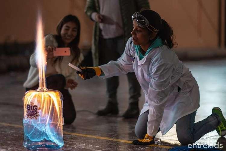 Celebra tu cumpleaños científico con Big Bang Science