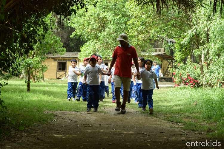 Visita la Granja Educativa de Lonquen