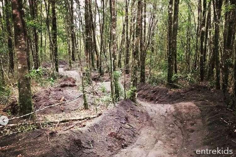 Senderos a pie o bicicleta para todos en Hueñu Hueñu