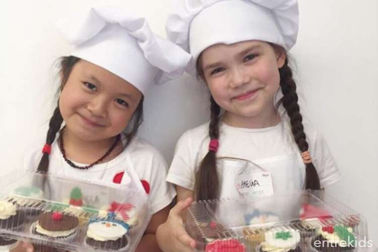 Clases de galletas y cupcakes en Moenne Studio