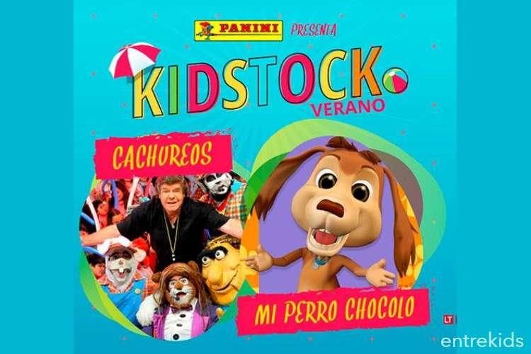 Entradas Festival Kidstock | Cachureos | Mi Perro Chocolo