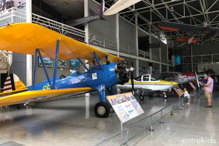 Ven a conocer el Museo Nacional Aeronáutico y del Espacio