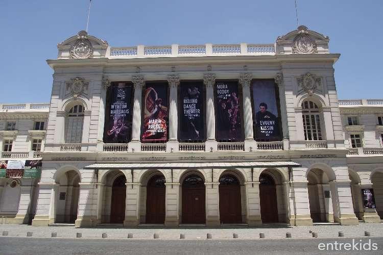 Visita el Teatro Municipal de Santiago