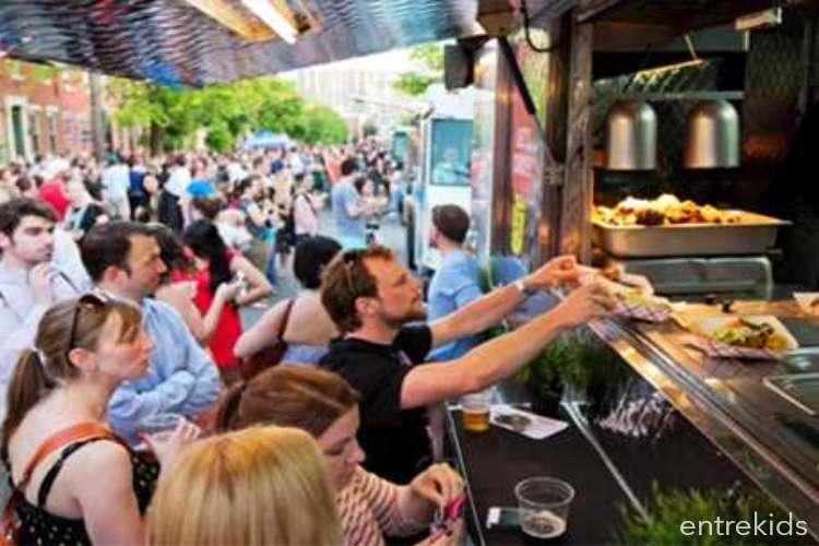 Festival de Food Trucks en La Reina