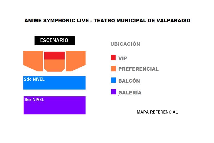 ANIME SYMPHONIC LIVE Teatro Municipal de Valparaíso