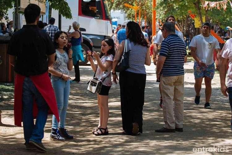 Feria del Sánguche en el Parque Araucano