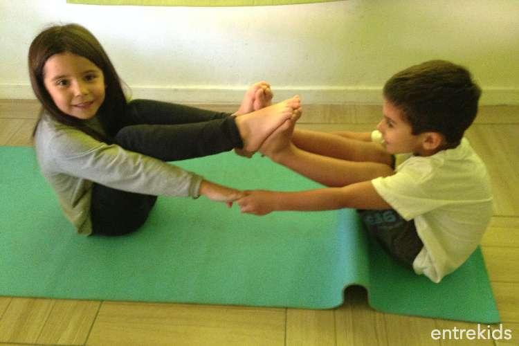 Yoga y Juego para niños