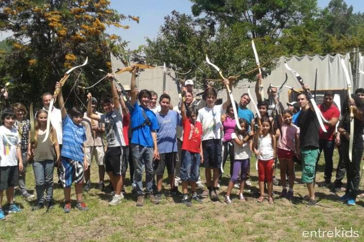 Clases de Iniciación grupales de Tiro con Arco en Ñuñoa