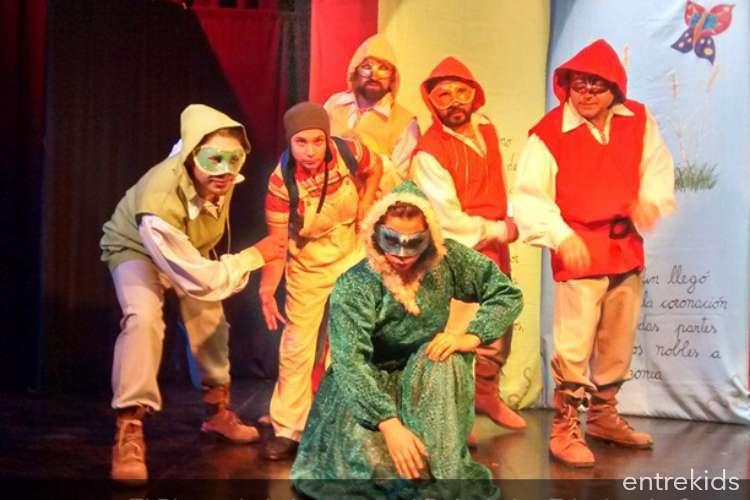 Teatro Infantil: El  león que se fue por el aire.