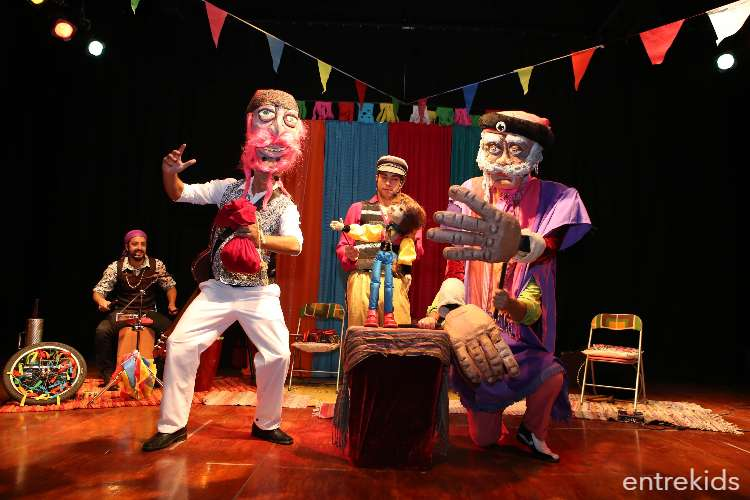 Teatro Infantil Centro Extensión UC - Danzas Aladas