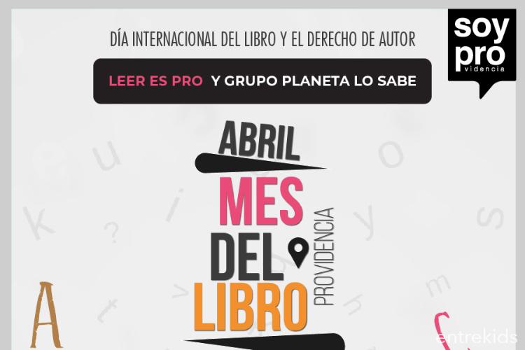 Celebración del Día del Libro en Providencia
