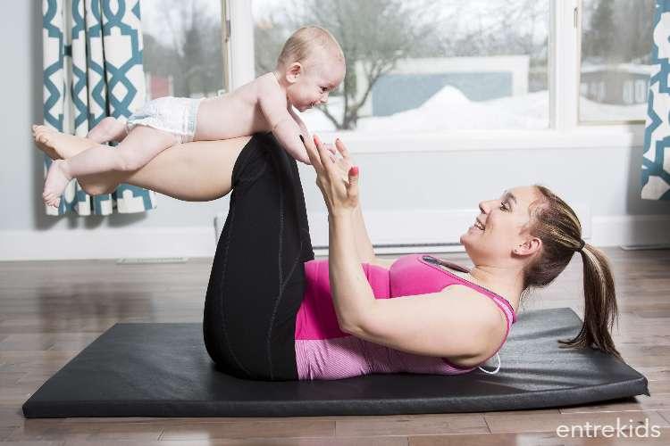 Pilates Mama & Bebé desde los 3 a 12 meses de vida
